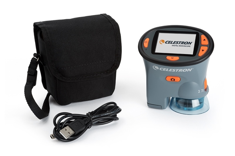 Celestron 44310 LCD Ekranlı El Mikroskobu (Blisterli)