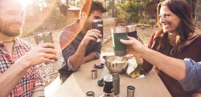 Stanley Classic Vakumlu Kamp Bardağı 0,47 lt - Lacivert - Thumbnail