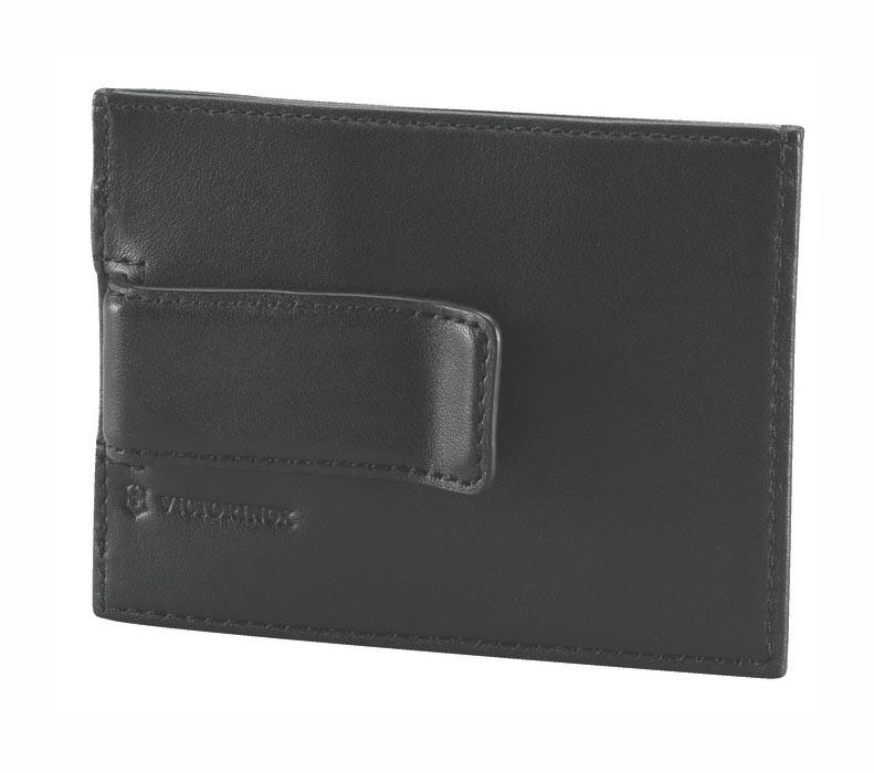 Victorinox 30163001 Rome Deri Para Klipsi ve Kredi Kartlık