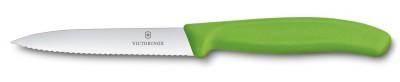 Victorinox 6.7736.L4 10cm Tırtıklı Soyma Bıçağı - Thumbnail