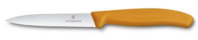 Victorinox 6.7736.L9 10cm Tırtıklı Soyma Bıçağı - Thumbnail
