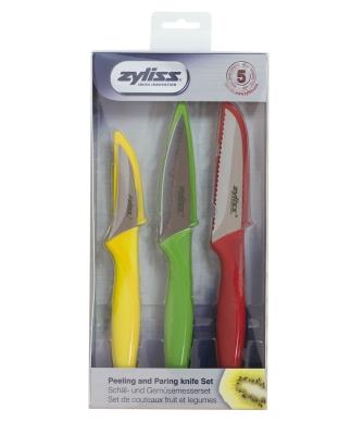 Zyliss E920127 3lü Soyma Bıçağı Seti - Thumbnail